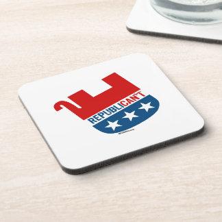 Republican't Beverage Coasters