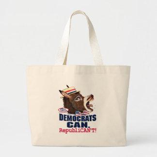 Republican't Donkey Head Bag