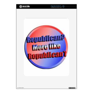 Republicant iPad Skin