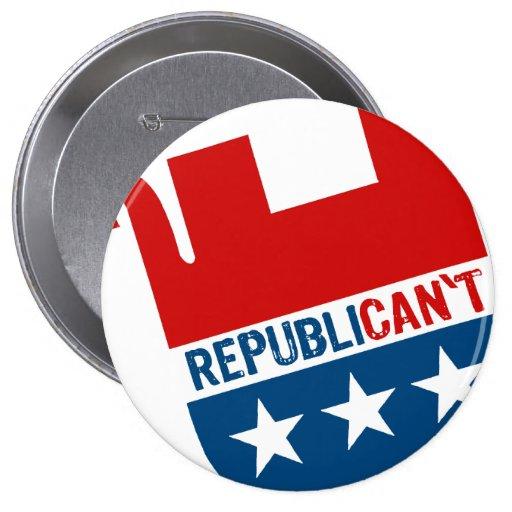 REPUBLICAN'T PINS