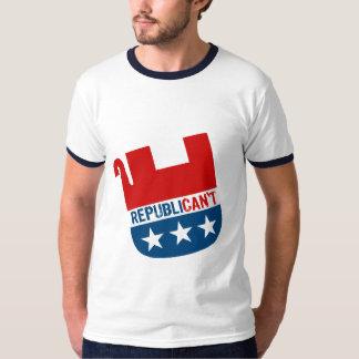 Republican't Playera