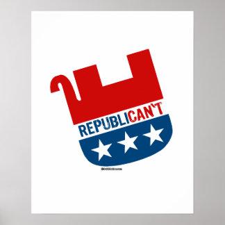 Republican't Póster