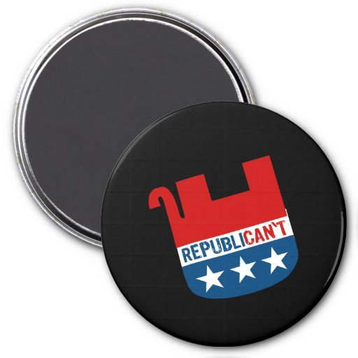 Republican't Refrigerator Magnets