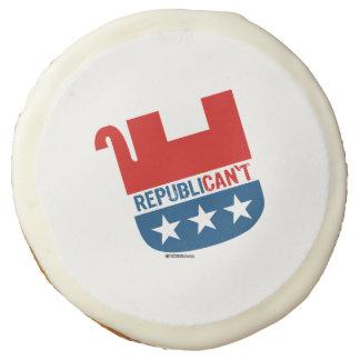 Republican't Sugar Cookie