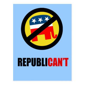 Republican'ts Postcard