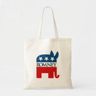 Republicrat Romney Tote Bags
