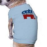 Republicrat Romney Camiseta De Perrito