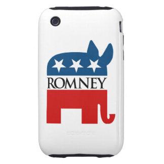 Republicrat Romney Tough iPhone 3 Coberturas