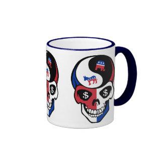 Republicrat Skeletor Ringer Mug