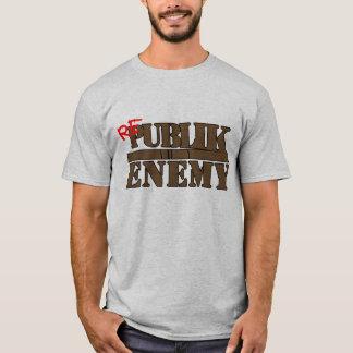 rePUBLIK ENEMY Brown T-Shirt