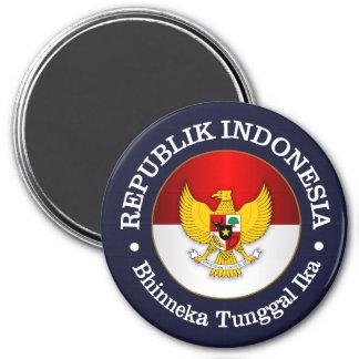 Republik Indonesia 3 Inch Round Magnet