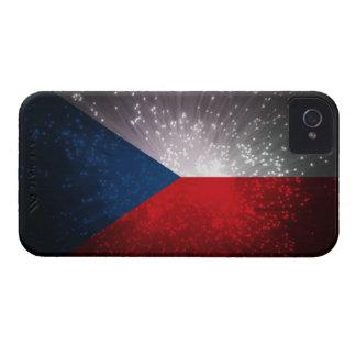Republika de Česká; Bandera checa Case-Mate iPhone 4 Cobertura