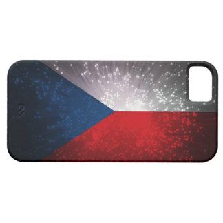 Republika de Česká; Bandera checa Funda Para iPhone 5 Barely There