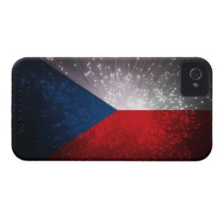 Republika de Česká; Bandera checa iPhone 4 Case-Mate Cárcasas
