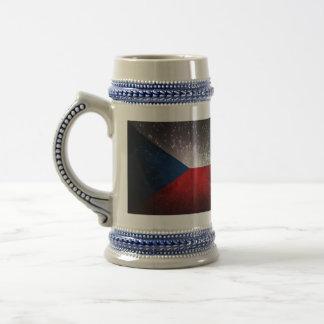 Republika de Česká; Bandera checa Jarra De Cerveza