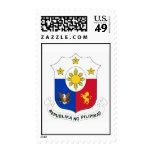 Republika ng Pilipinas (Coat of Arms) Stamps