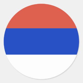 Republika Srpska, Bosnia and Herzegovina Classic Round Sticker