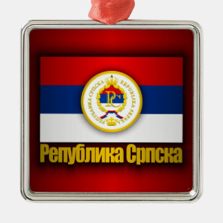 Republika Srpska Metal Ornament