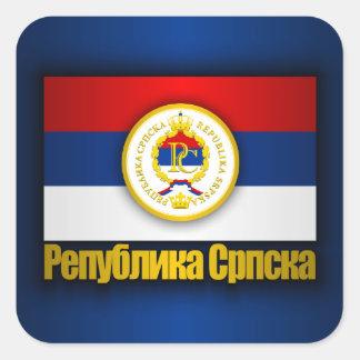 Republika Srpska Square Sticker