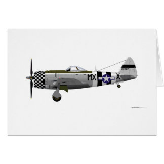 Republilc P-47D Thunderbolt 226671 Card