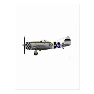 Republilc P-47D Thunderbolt 226671 Post Card
