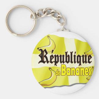 République de Bananes Keychain