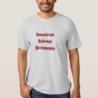 Repuboican National Hootenanny Tee Shirt