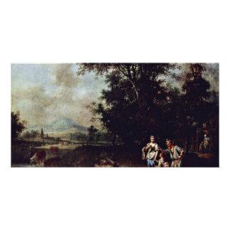 Repudiation Of Hagar By Seekatz Johann Conrad Bes Personalized Photo Card