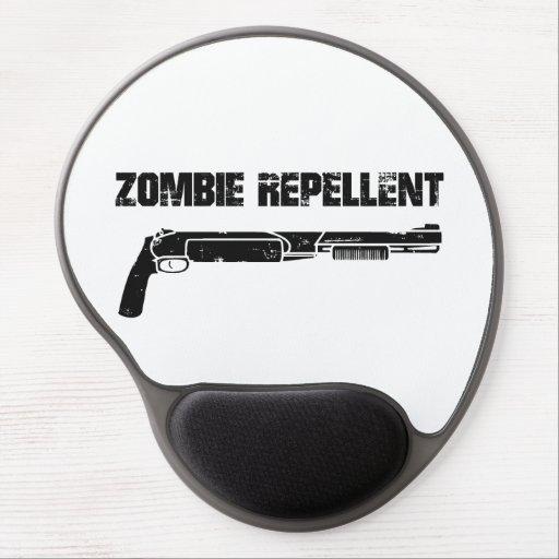 Repulsivo del zombi alfombrilla de raton con gel