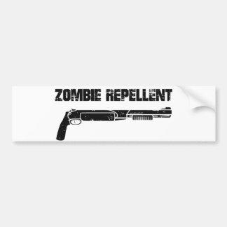 Repulsivo del zombi pegatina para auto