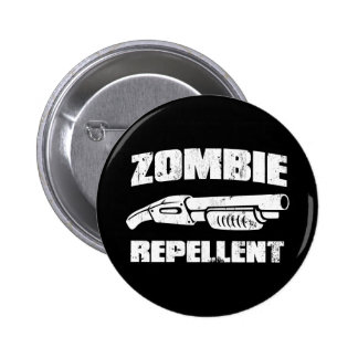 repulsivo del zombi - la escopeta pin redondo de 2 pulgadas