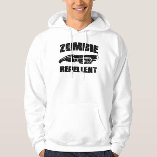 repulsivo del zombi - la escopeta suéter con capucha
