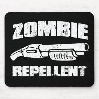 repulsivo del zombi - la escopeta alfombrillas de ratón
