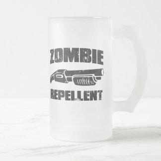repulsivo del zombi - la escopeta taza cristal mate