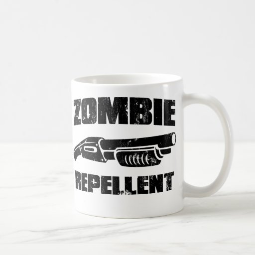 repulsivo del zombi - la escopeta taza