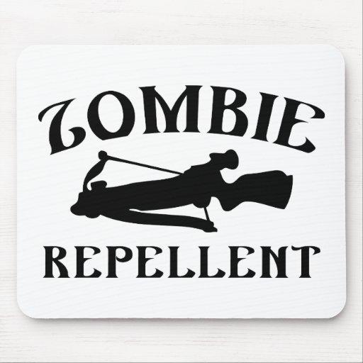 Repulsivo del zombi alfombrillas de ratón