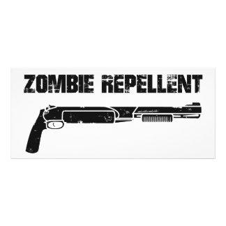 Repulsivo del zombi plantillas de lonas