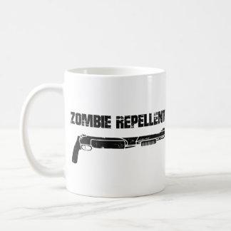 Repulsivo del zombi taza básica blanca