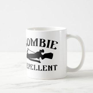 Repulsivo del zombi taza