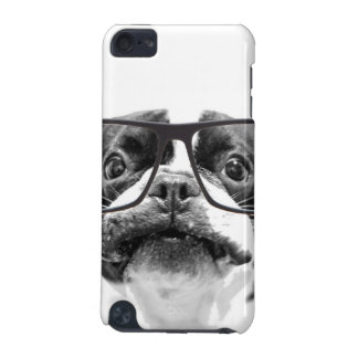 Reputable French Bulldog with Glasses iPod Touch (5th Generation) Cover