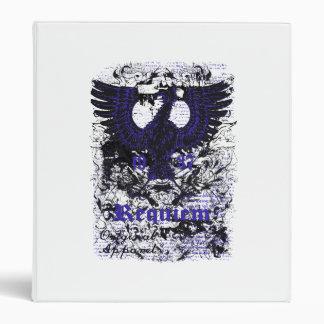 Reqium afectó al negro azul de Eagle del arte