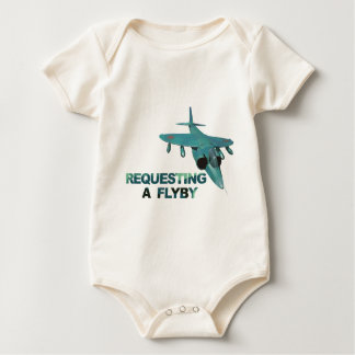 Request FlyBy Tower Baby Bodysuit