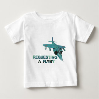 Request FlyBy Tower Baby T-Shirt