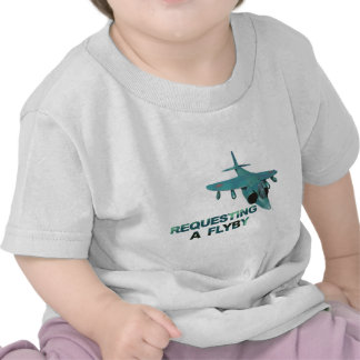 Request FlyBy Tower T-shirt