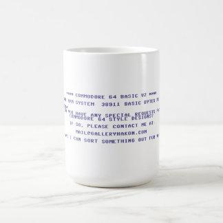 Request Your Custom Commodore 64 Design Classic White Coffee Mug