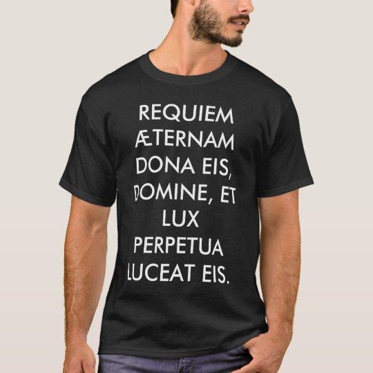 +REQUIEM+Camisa+Negra+ T-Shirt