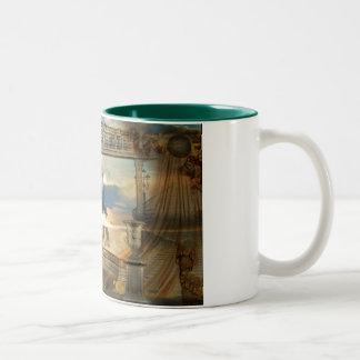 Requiem for a dream Two-Tone coffee mug