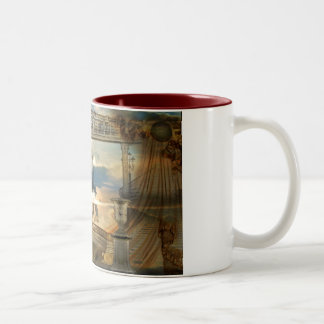 Requiem for a dream Two-Tone coffee mug