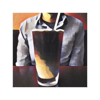 Requiem for Caffeine Canvas Print