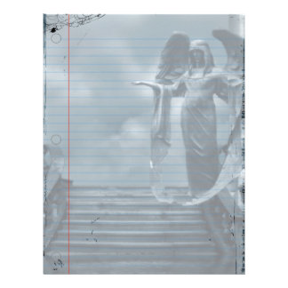 Requiem Goth Notebook Paper
